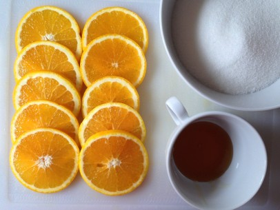 OrangeCardamomCake_syrup ingredients